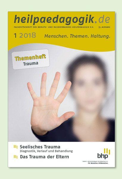 Cover der heilpädagogik.de 1/2018