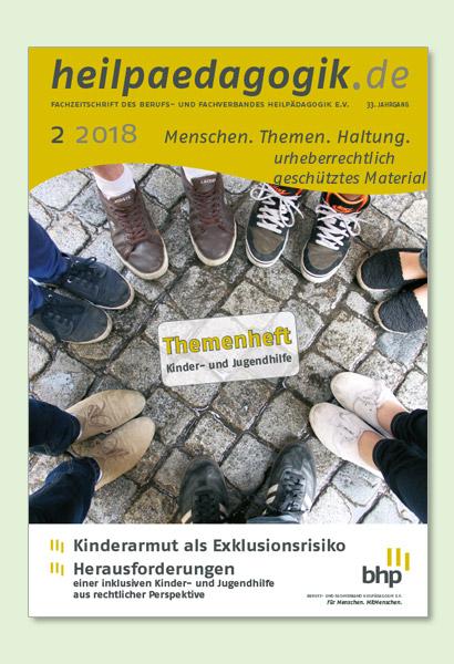 Titelbilder der heilpaedagogik.de 02/2018