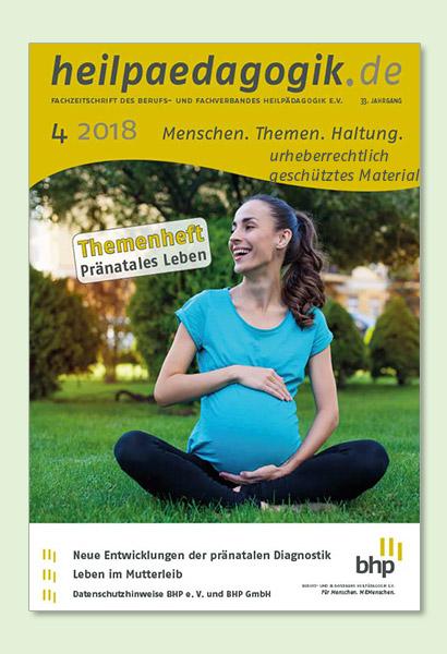 Titelbilder der heilpaedagogik.de 04/2018