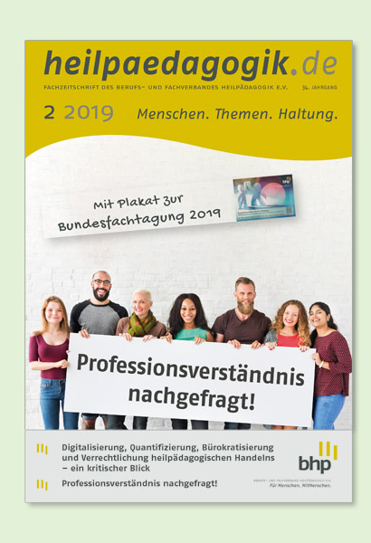 Titelbilder der heilpaedagogik.de 02/2019