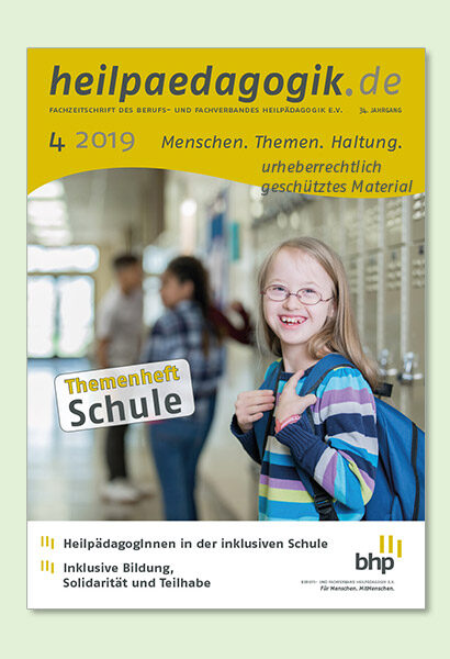 Titelbilder der heilpaedagogik.de 04/2019