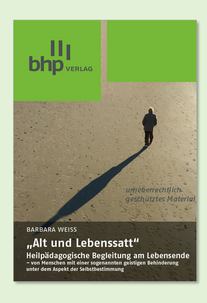 """Buchcover """"Alt und Lebenssatt"""" von Barbara Weiß"""